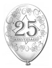 Lo store del party for 25esimo anniversario